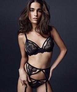 Natalia Bra + Garter,Panty Set