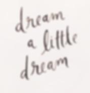 Dream a litte Dream