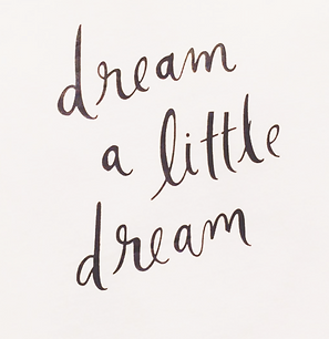 Dream a litte Dream