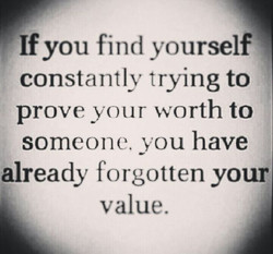 Remember Your Value