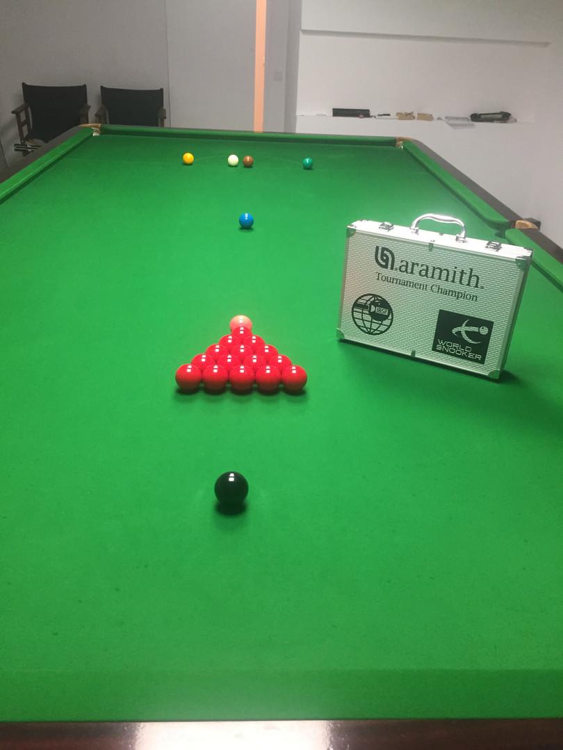 Aramith snooker balls