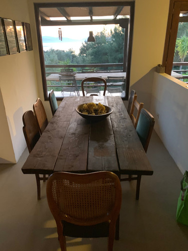 Indoor dinning table