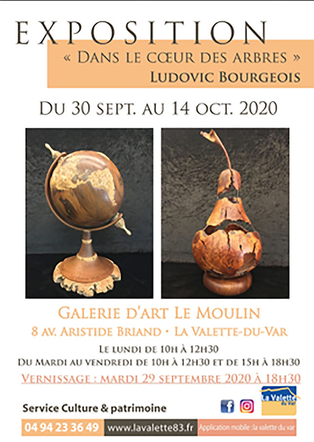 Expo Ludovic Bourgeois Sept a Oc