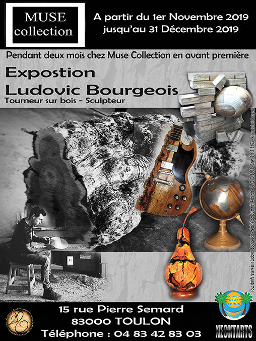 Flyer Promo Muse Collection Ludovic Bour