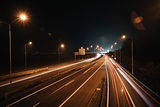 night-car-lights-on-the-road-picjumbo-co