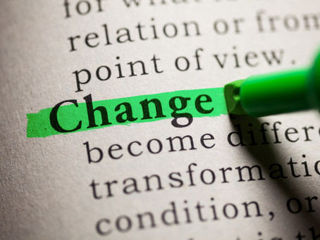 Realize Change is Going to Continue to Happen