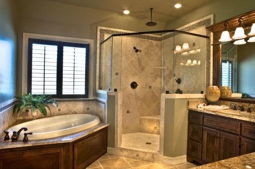 Diagonal Shower Tile