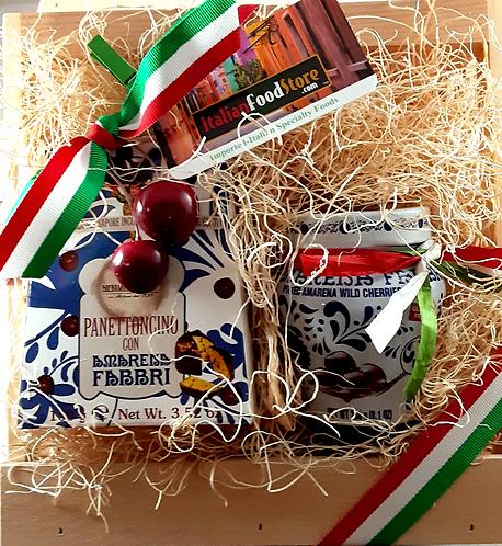 Panettone & Amarena Wild Cherries