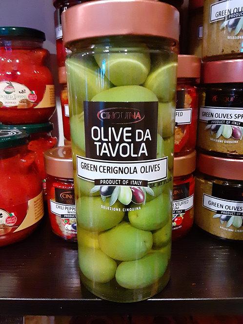 Green Cerignola Olives 11.4 oz