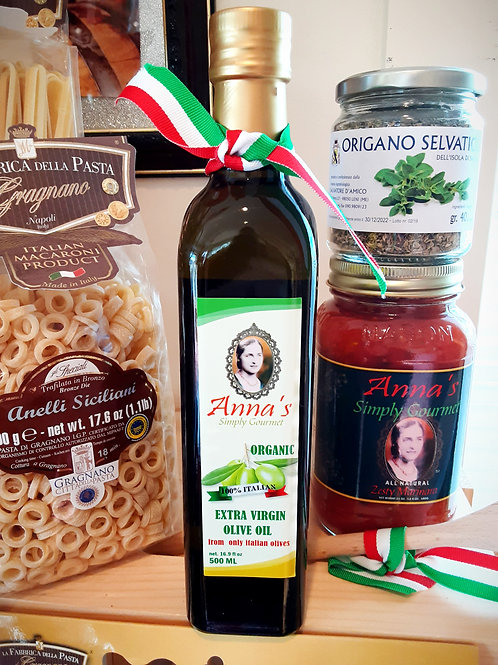 Anna's Simply Gourment Organic Extra Virgin Olive Oil