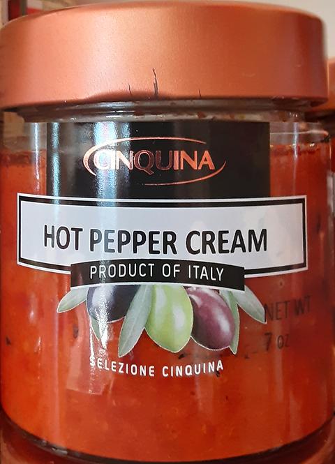 Hot Pepper Cream