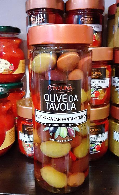 Mediterranean Fantasy Olives  11.4 oz.