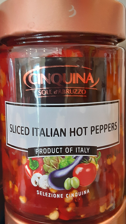 Sliced Italian Hot Peppers