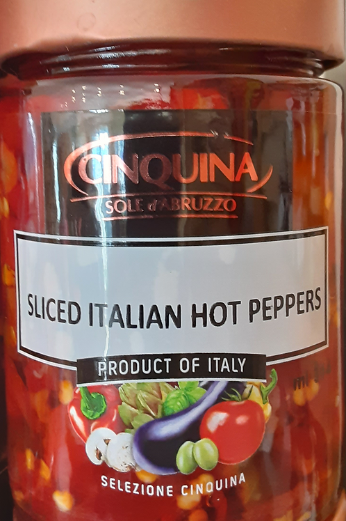 Sliced Italian Hot Peppers