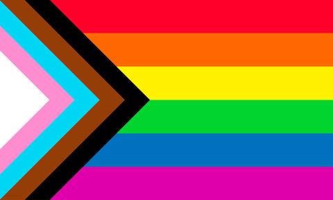 Progress Pride Flag by Daniel Quasar (quasar.digital LLC)