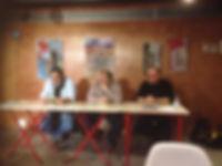 """«Presentando """"Libro libre"""" en Reus», fotografía de la sección FOTOS de la página web de Juan López-Carrillo"""