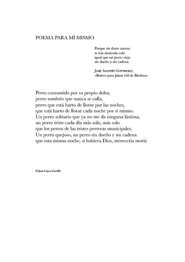 Poema para mí mismo