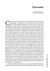 Narración «Caro amic» del poeta Juan López-Carrillo en el libro «La poesia de Gerard Vergés»