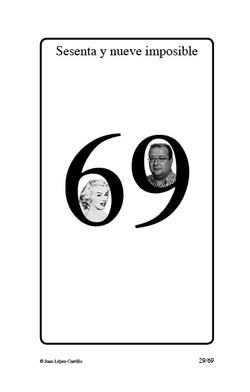 """""""Sesenta y nueve imposible"""""""