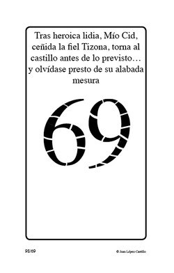 """Tras heroica lidia, Mío Cid, ceñida"