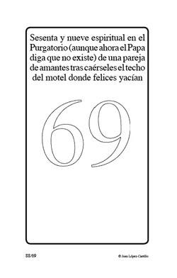 """""""Sesenta y nueve espiritual en el pu"""