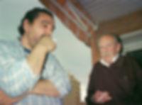 «Gerard y Ramón, poética del humo», fotografía de la sección FOTOS de la página web de Juan López-Carrillo