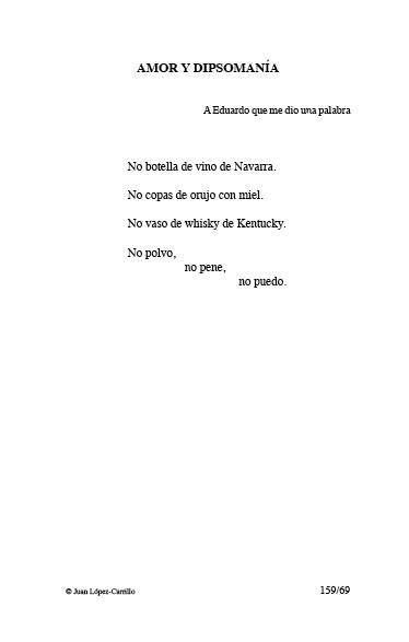 """""""Amor y dipsomanía"""""""