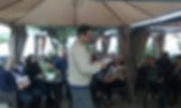 «Cristóbal en la jam poética de ENDEI 2017», fotografía de la sección FOTOS de la página web de Juan López-Carrillo
