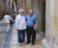 «Con Diómedes Cordero y Krasimir Tasev por Tarragona», fotografía de la sección FOTOS de la página web de Juan López-Carrillo