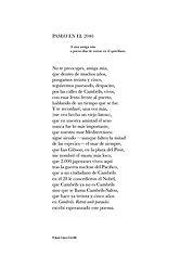 Poema «Paseo en el 2040» del poeta Juan López-Carrillo