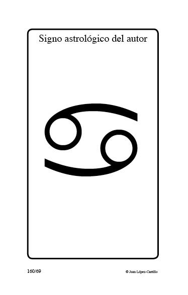 """""""Signo astrológico del autor"""""""
