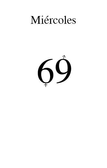 Página Miércoles de «69/modelo para