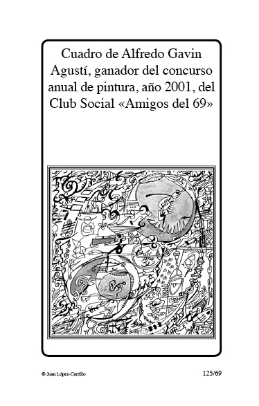 """Cuadro de Alfredo Gavín Agustí, gan"