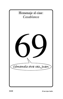 """Homenaje al cine: Casablanca"""