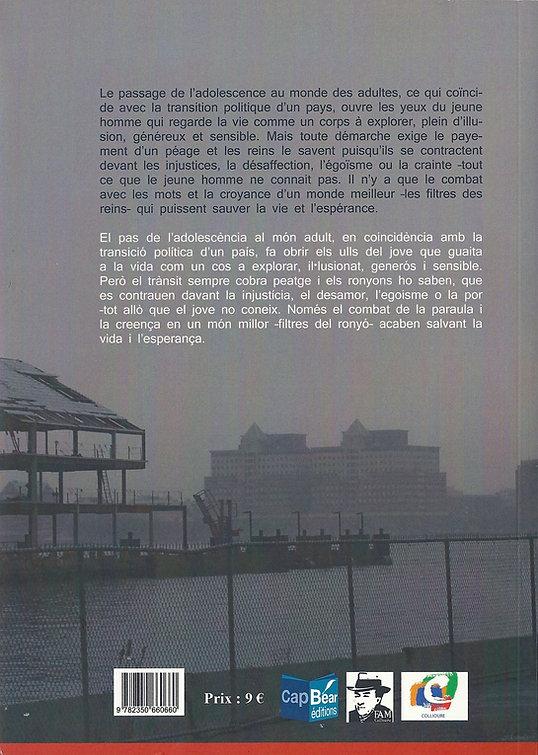 «Amb pedres al_ronyò», libro de poemas de Eugeni Perea con traducción al castellano de Ramón García Mateos y Juan López-Carrillo
