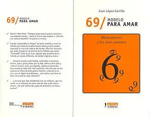 «69/modelo para amar», libro fundamentalmente de poesía visual del poeta Juan López-Carrillo
