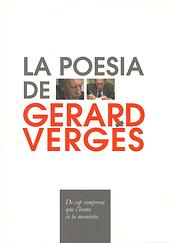 «La poesia de Gerard Vergés», libro colectivo donde participa el poeta Juan López-Carrillo