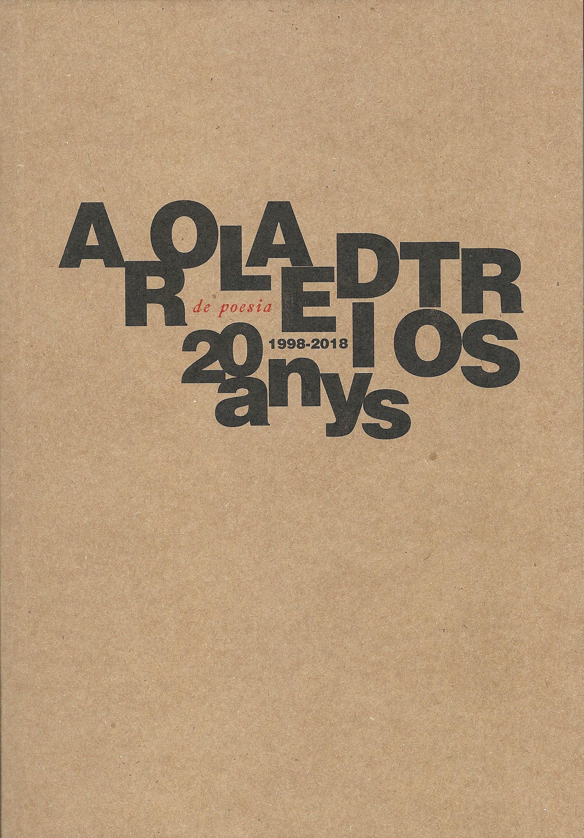 Arola Editors 20 anys