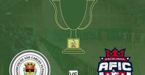 Nesta quarta-feira tem Ascf São Carlos x São José do Cedro pelas oitavas de final