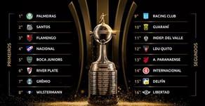 Nesta sexta serão definidos os confrontos das oitavas da Libertadores