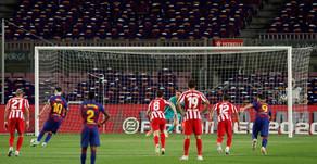 Messi faz gol 700, mas Barcelona só empata com Atlético, e Real pode abrir vantagem