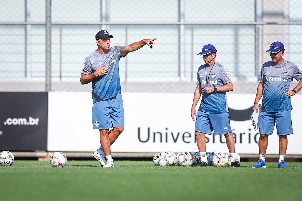 Foto (Lucas Uebel/DVG/Grêmio)