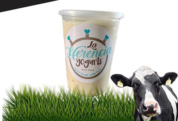 La Herencia Yogurts  Natural 32oz