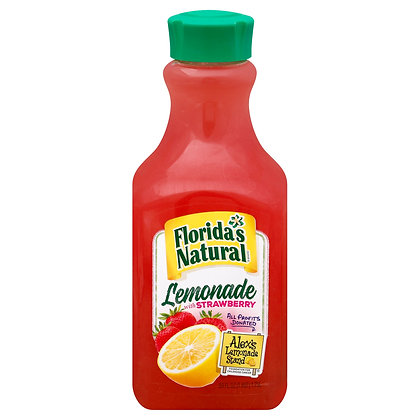 Florida's Natural Lemonade & Strawberry 59 0z
