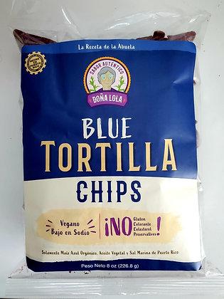Doña Lola Blue Tortilla Chips 8oz