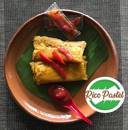 Pastel de Masa/ relleno de pollo 12 unidades