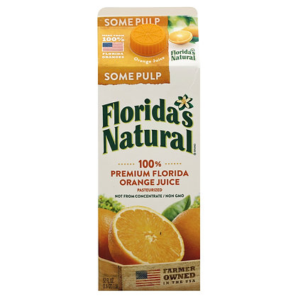 Florida's Natural con pulpa 52oz