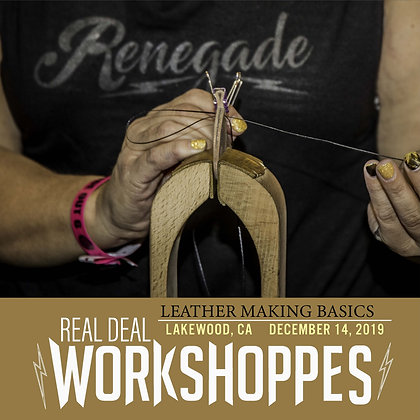 Leatherworking Workshoppe - December 14