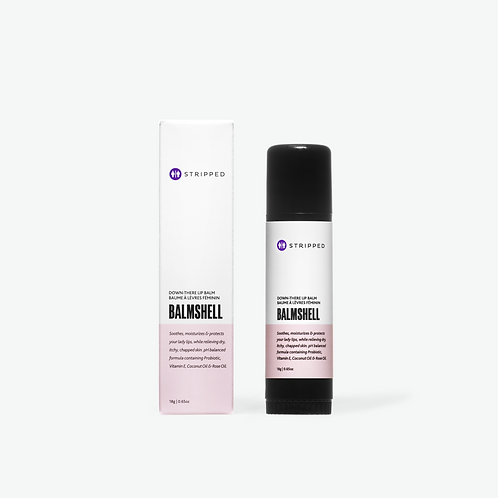 BALMSHELL  |  Down-There Lip Balm with Probiotic