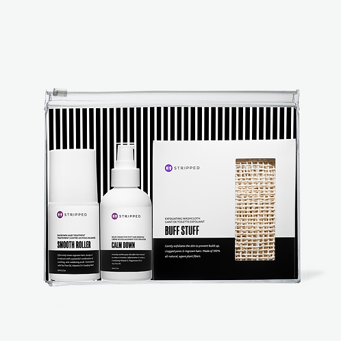 BARE BASICS  |  Waxing Aftercare Essentials Kit